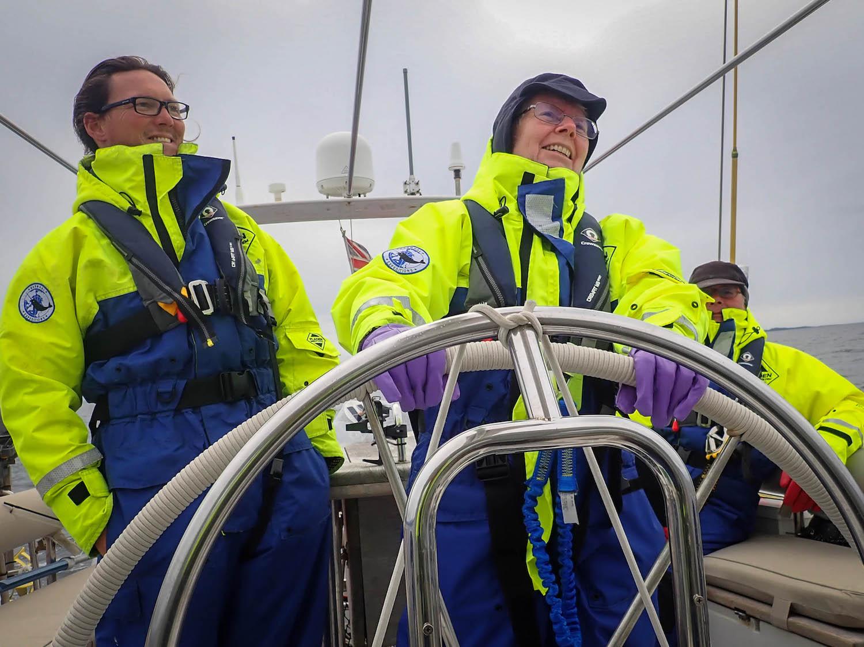 High latitude sailing adventure