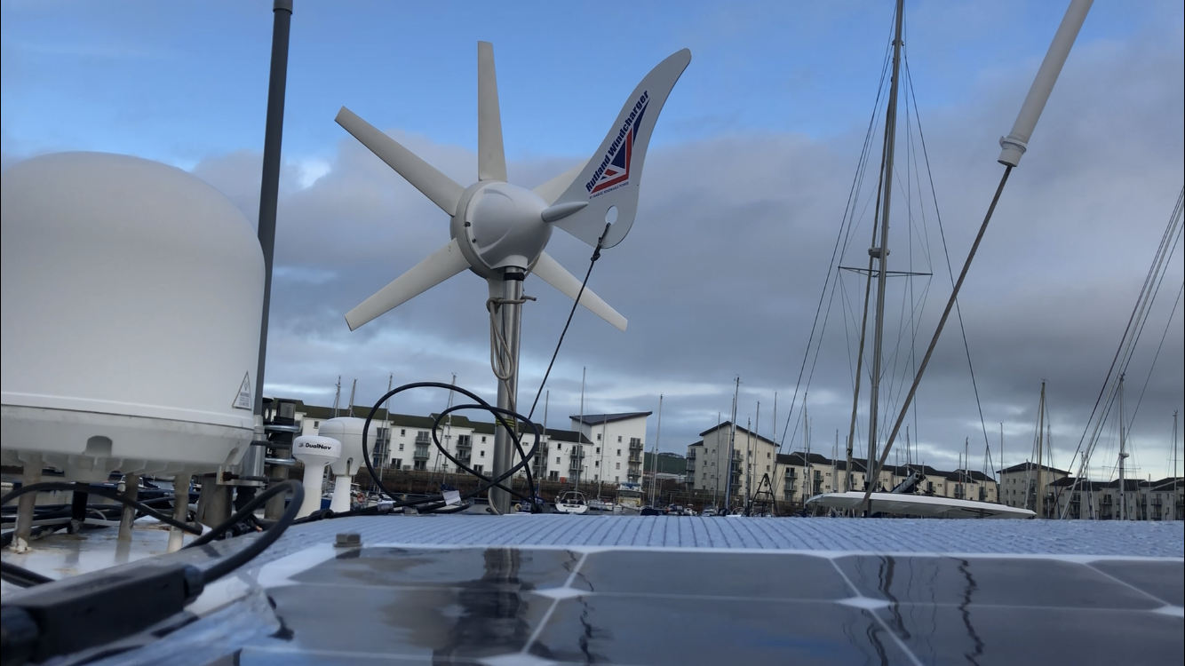 In our quest to have as little impact on the environment as possible we installed some renewable power systems. Look out for a separate blog post on how we installed the wind, solar and hydrogenerator power and a comparison of which is working best.