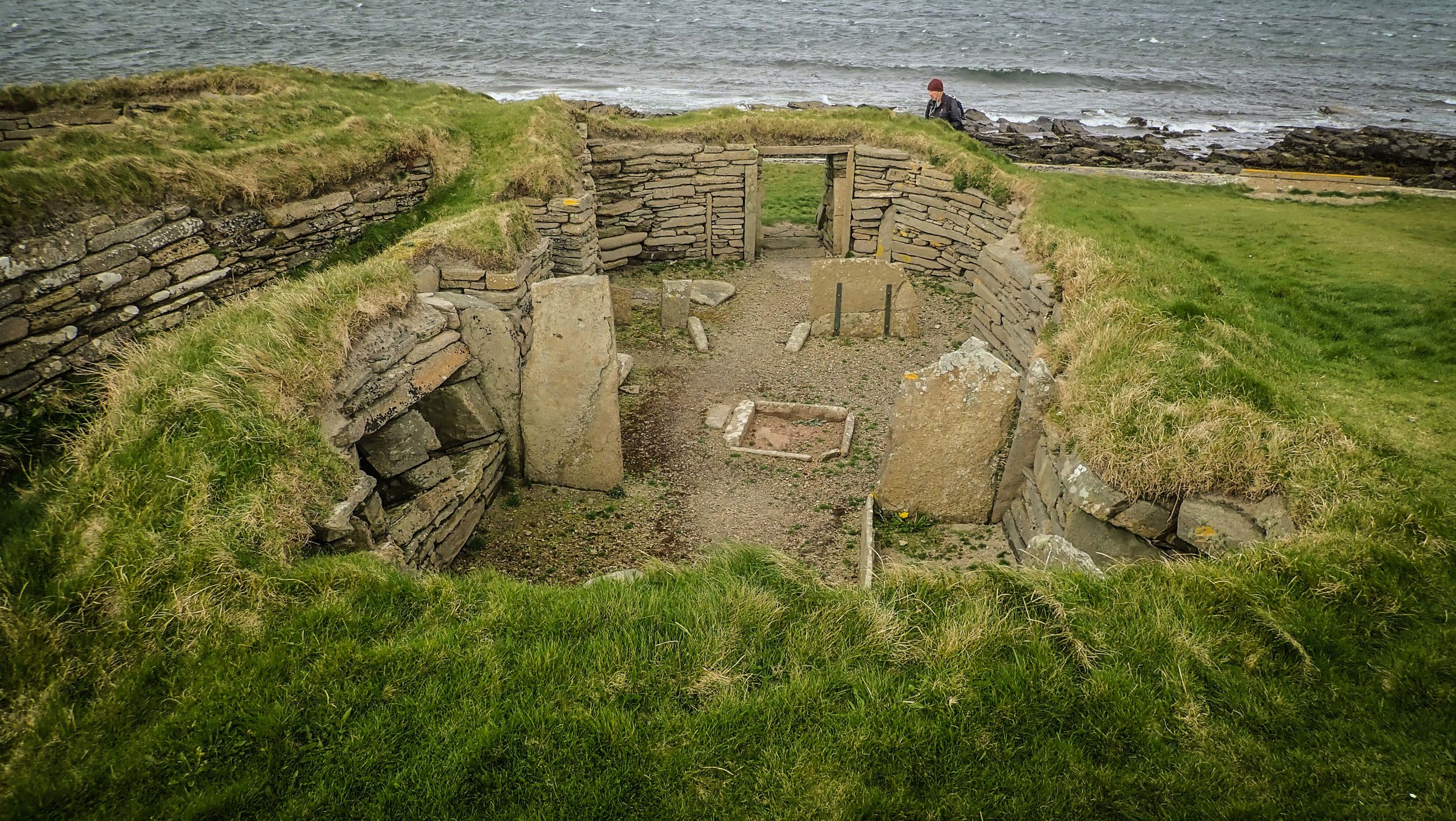 The oldest standing dwelling in Europe, more than 1000 years older than the pyramids still provides shelter from the rain.