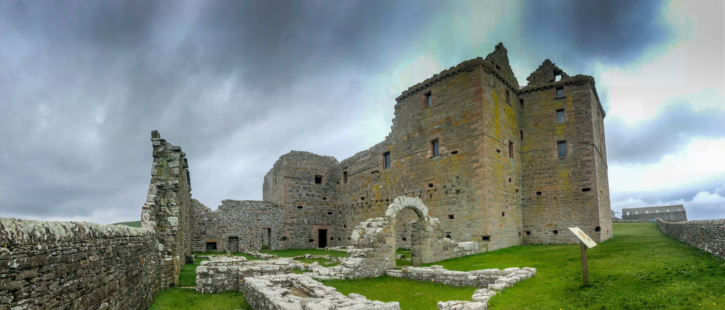 Noltland Castle