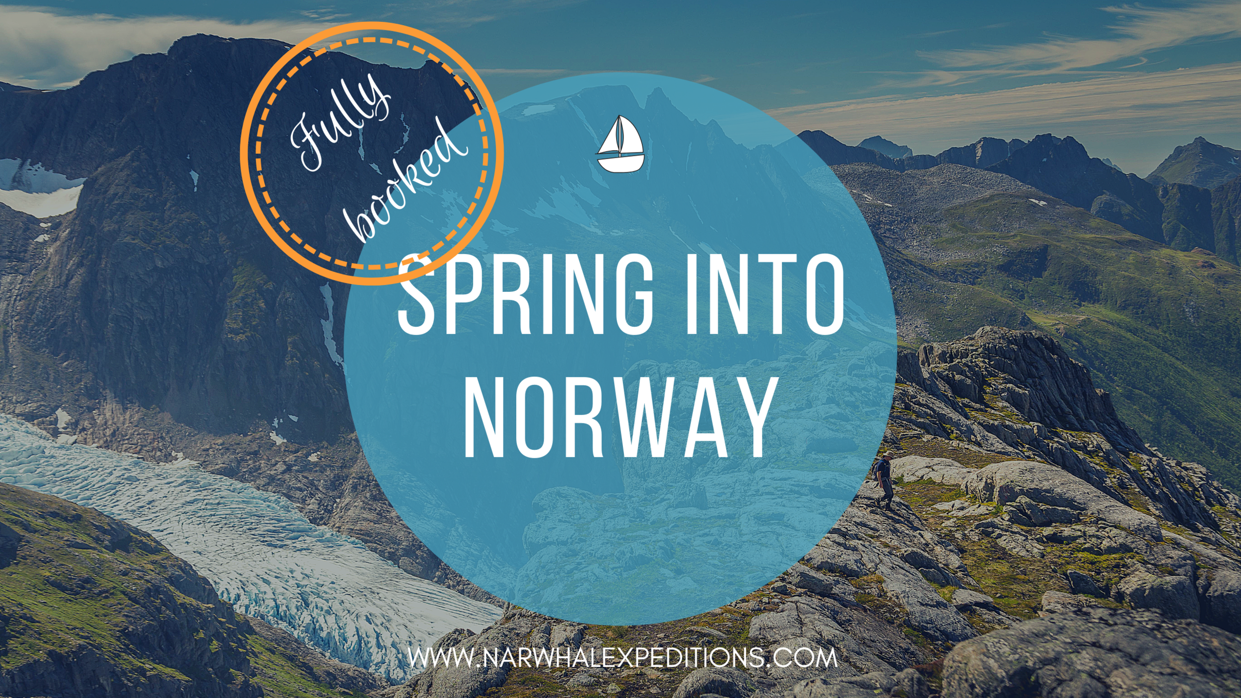 Sailing expedition in the Norwegian fjords