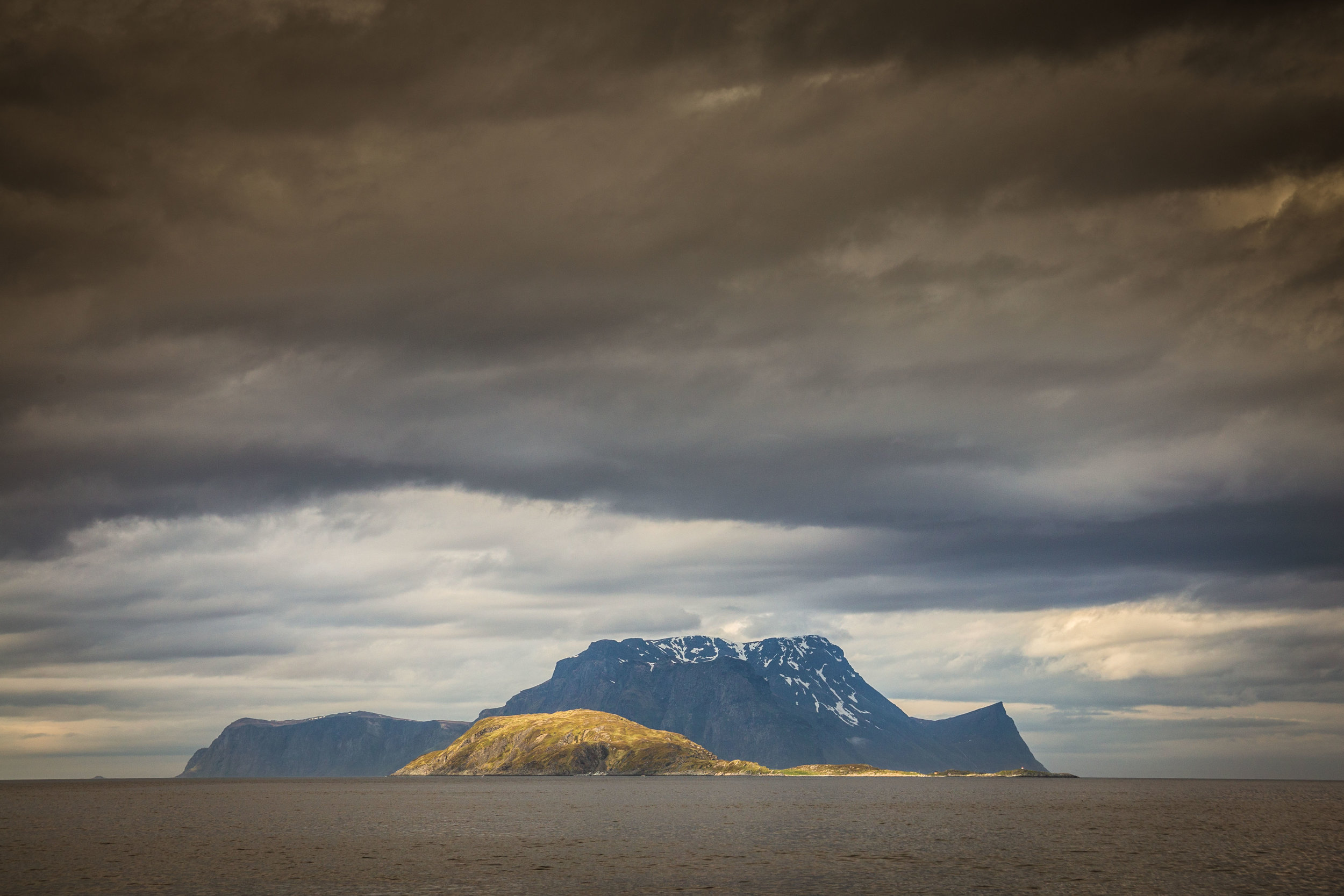 Our last glimpse of mainland Norway
