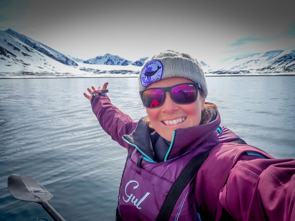Kayaking in Svalbard wonderland!