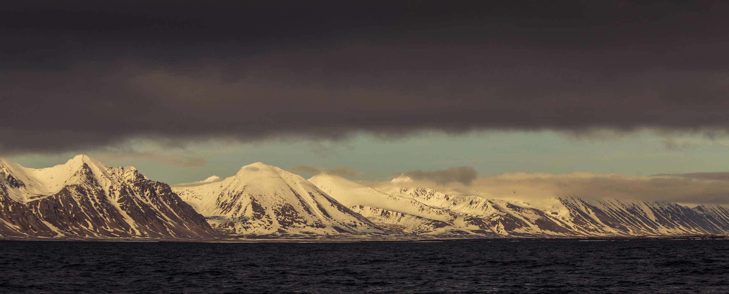 Rock, ice and snow - our constant companions on our sailing adventure