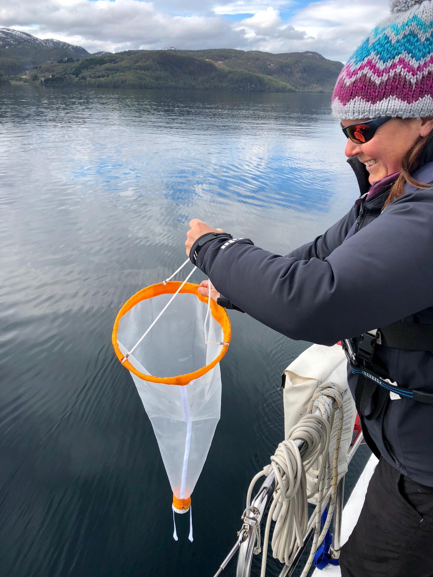 Ocean micro-plastic research in the arctic