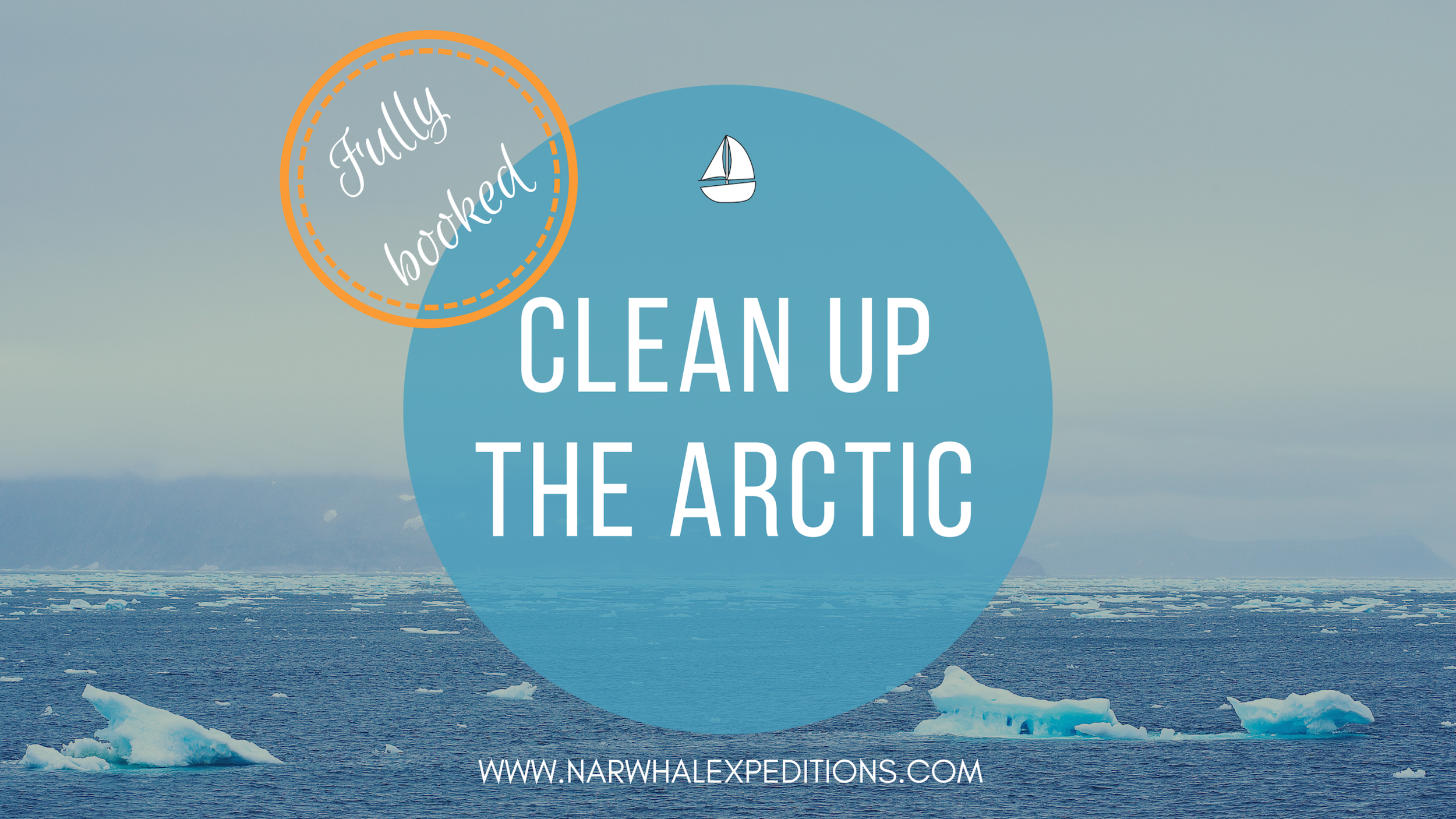 Arctic ocean research and plastic clean up expedition in Svalbard