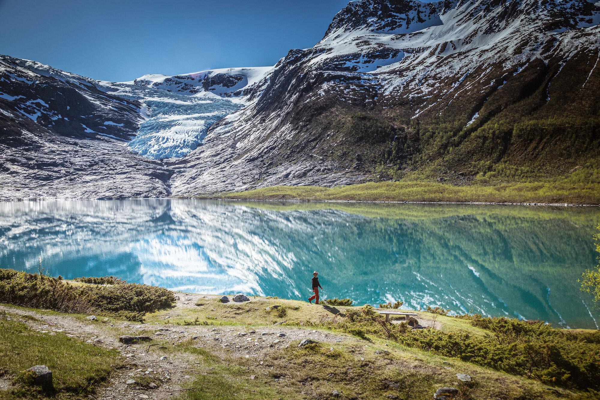 Exploring the stunning Norwegian fjords