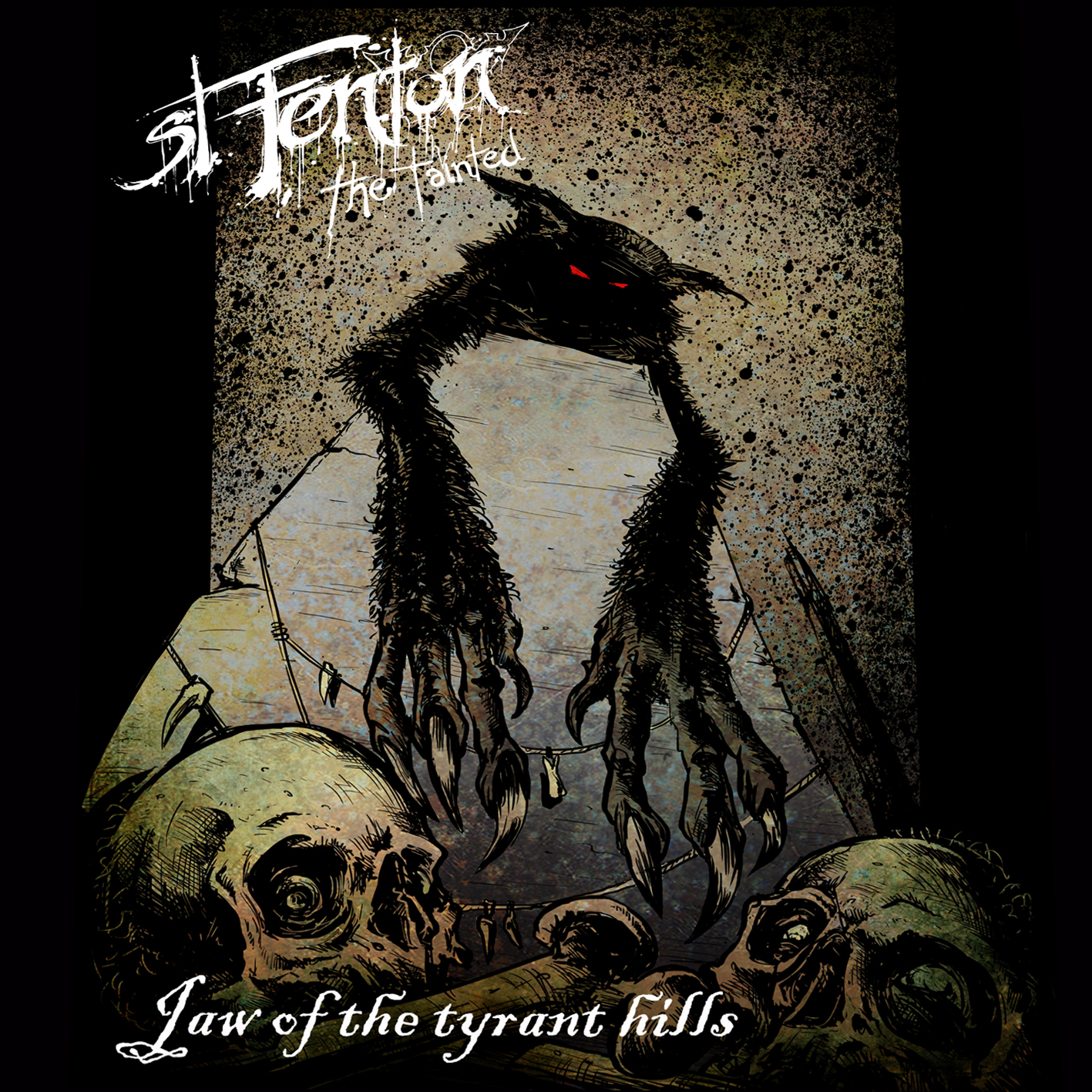 Jaw of the Tyrant Hills track   listing:   1) You Stepped On My Grave (intro) 2) Kill What You Love 3) God Sent Rain (You Sent Blood and Piss) 4) Ghost of the Stillborn Summer 5) Do Your Devils Know My Name 6) Death Wanders Home