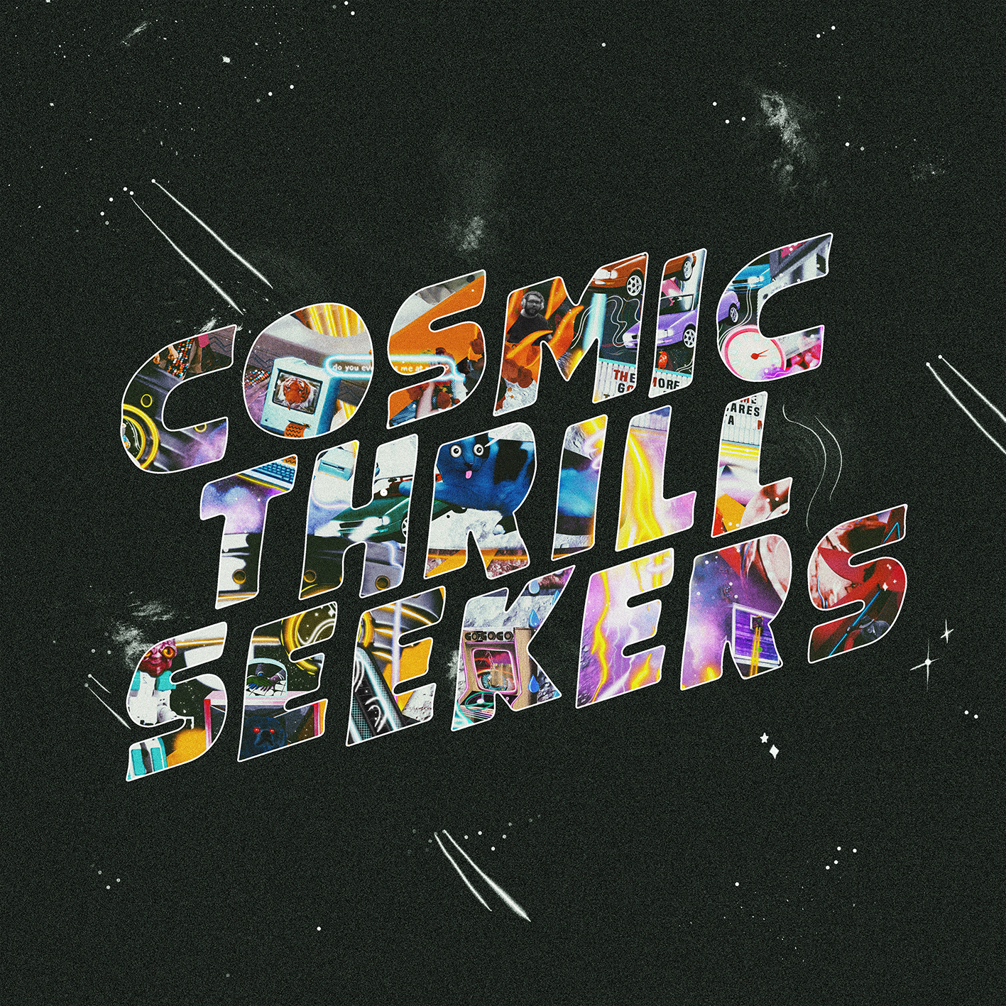 Cosmic Thrill Seekers    Tracklist :  ACT I The Heart / Passenger 1. I Lost My Life 2. Lauren (Track 2) 3. Fuckin' A 4. Dialogue 5. Cosmic Thrill Seeking Forever  ACT II The Brain / Driver 6. Slip 7. The Prototype of the Ultimate Lifeform 8. Breather 9. Ursula Merger  ACT III The Roar / Random Passerby 10. Dream Nails 11. C'Mon & Smoke Me Up 12. Trying Times 13. Klonopin 14. Wacky Misadventures of The Passenger
