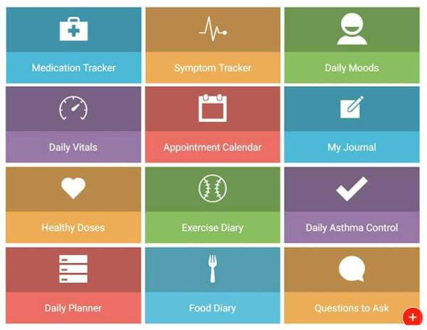 This is a screenshot of my Health Storylines toolbox.