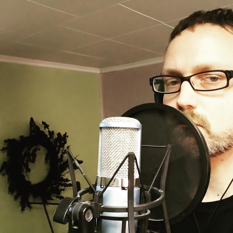 Joseph Beaty Tracking Vocals in New York