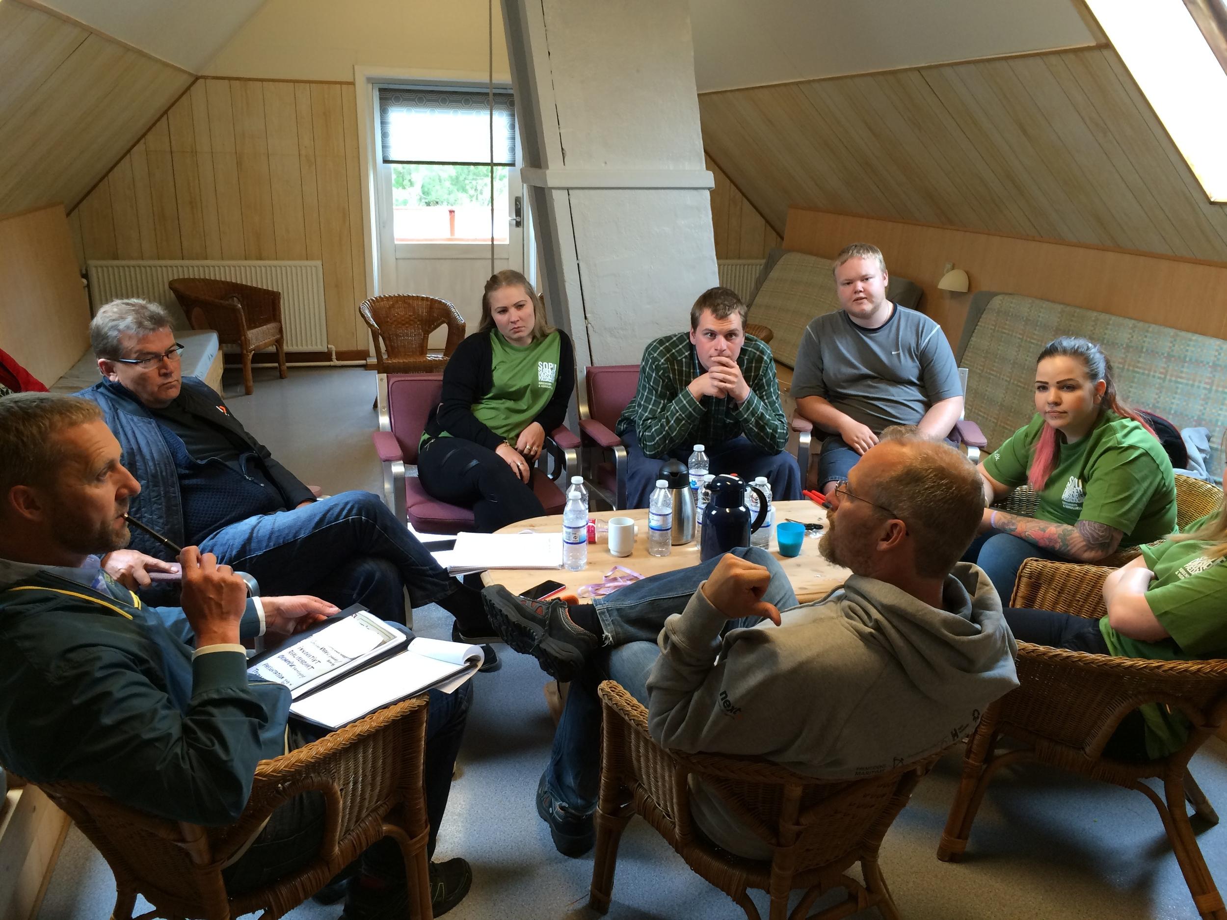 Der gives feedback på gruppernes innovationsprojekter