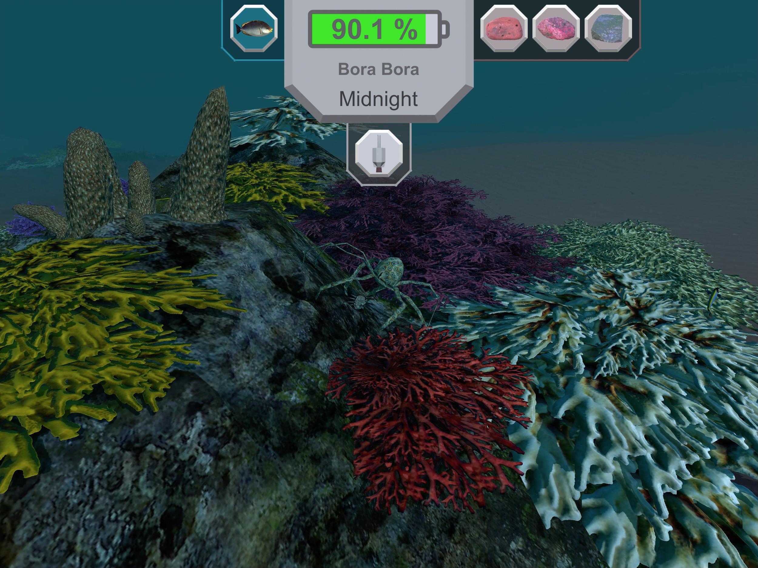 Robocto - Location: Bora Bora (crawling and catching a crab) - iPad