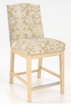Fixed bar stool