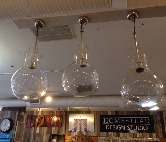 Clear Glass Pendants