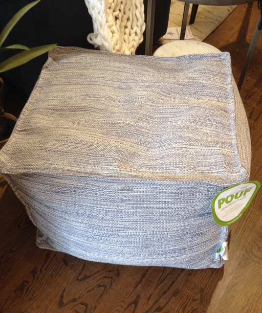 Indoor/outdoor pouf