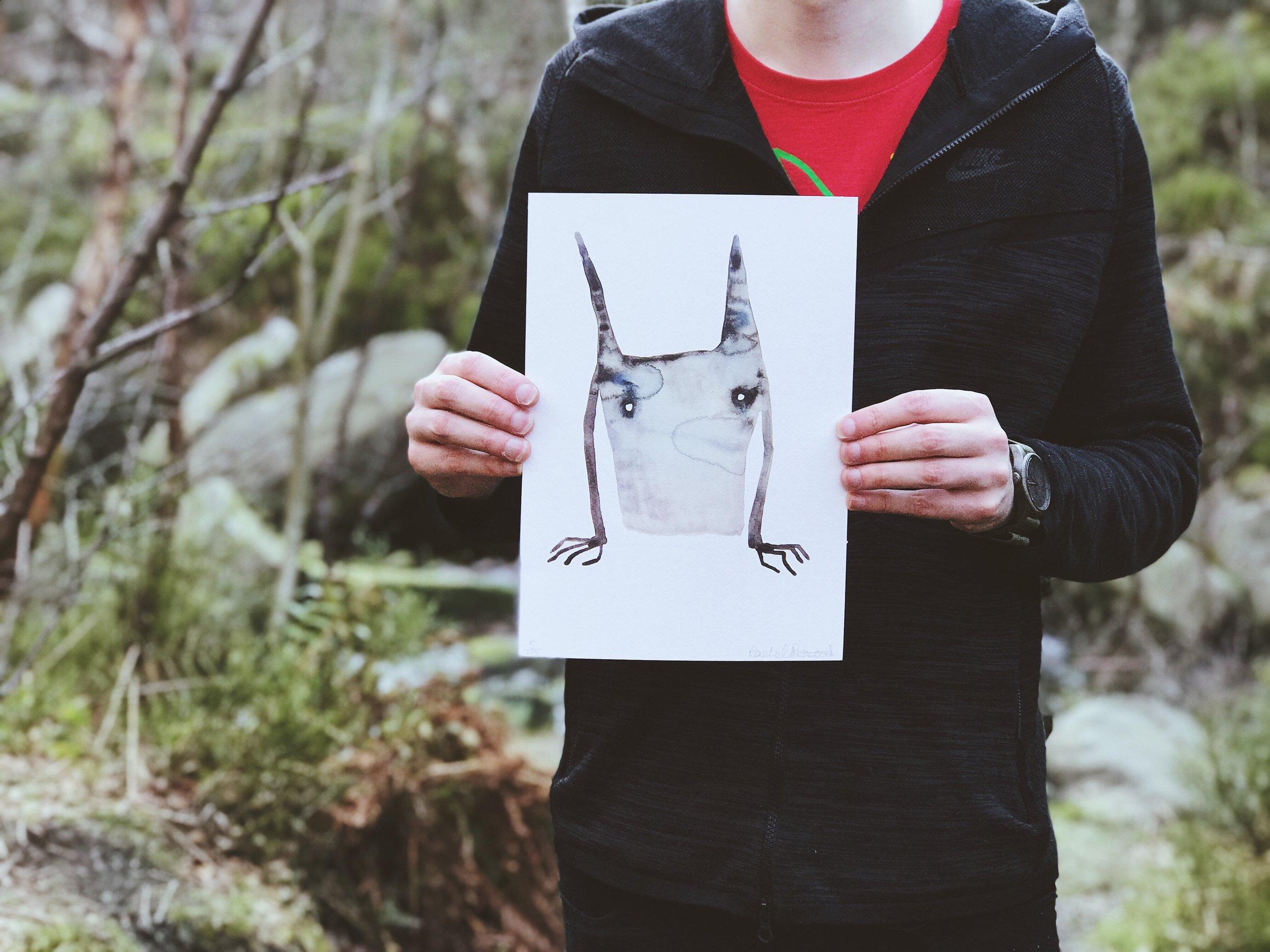 rising | Limited Edition Fine Art Print  £20