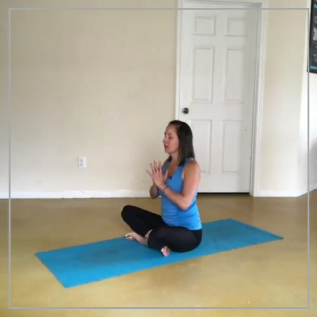 Tune In yoga pose