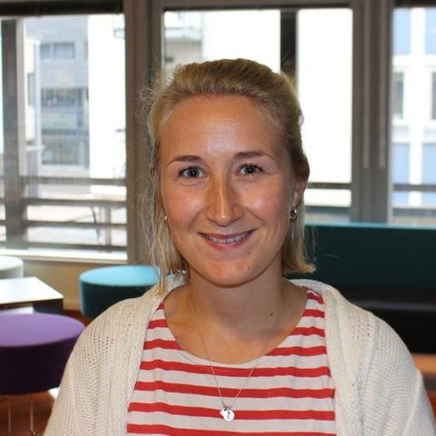 Elise Berggren tok initiativ til å stille lærerlag på Glommaløpet.