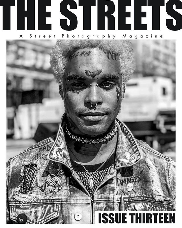 Issue Thirteen is live! Come connect with six great artists (and humans) through their photographs and stories. www.thestreetsmag.com . . Cover photo by @dominique_nyc
