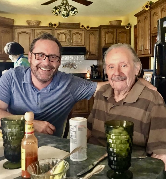 Me and my dad, Bill Miller in late 2017.