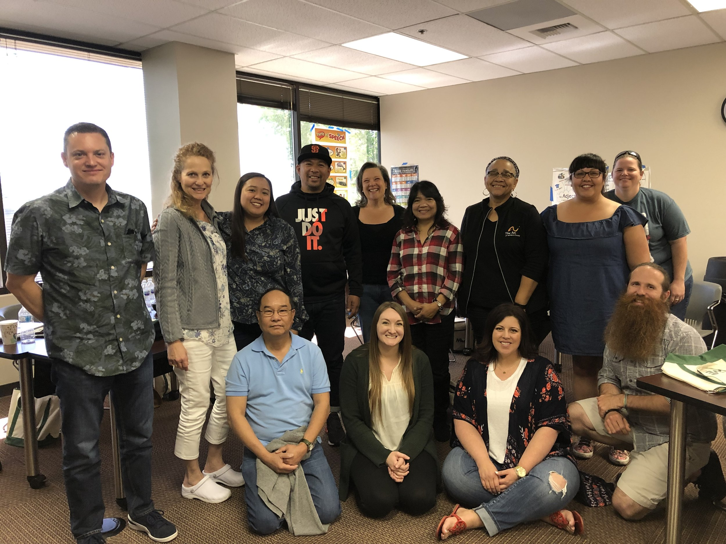 In April, 2019, 13 MOVE Basic Providers achieved the status of MOVE International Trainers. This was a MIT training in Bakersfield, CA. Congrats to all.
