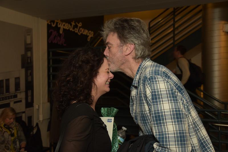 Geraldine Hughes and Marcus Robinson