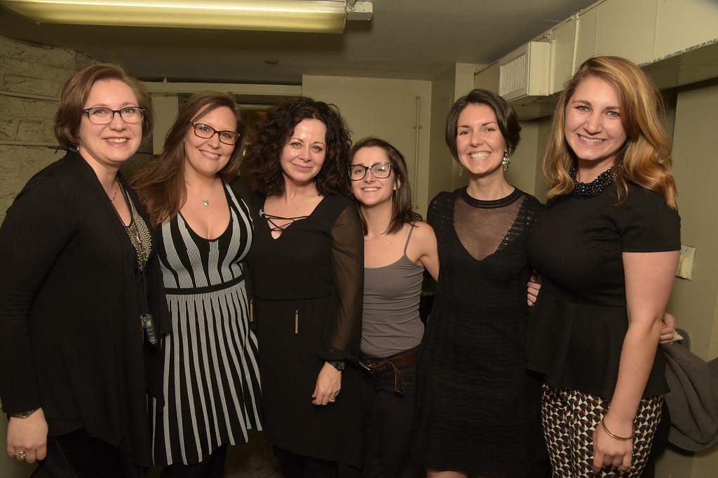 Kat West, Katie Sue Nicklos, Geraldine Hughes, Taylor Thomson, Kate Bashore and Ann Beyersdorfer