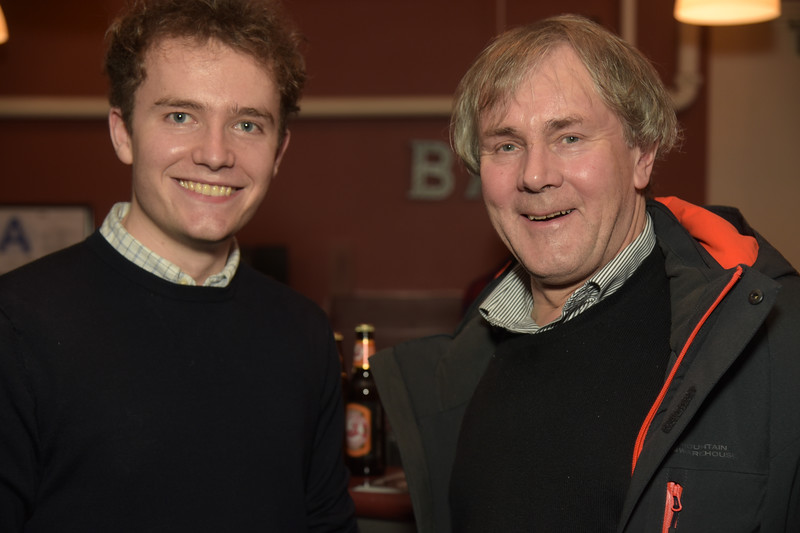 Charlie Whelton and Robert Holman