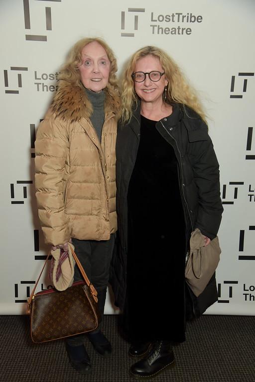Charlotte Moore and Carol Kane