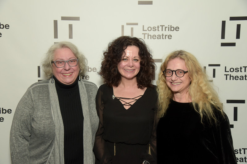 Jayne Houdyshell, Geraldine Hughes and Carol Kane