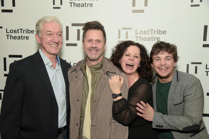 Sean Gormley, Don Birge, Geraldine Hughes and Rupert Simonian