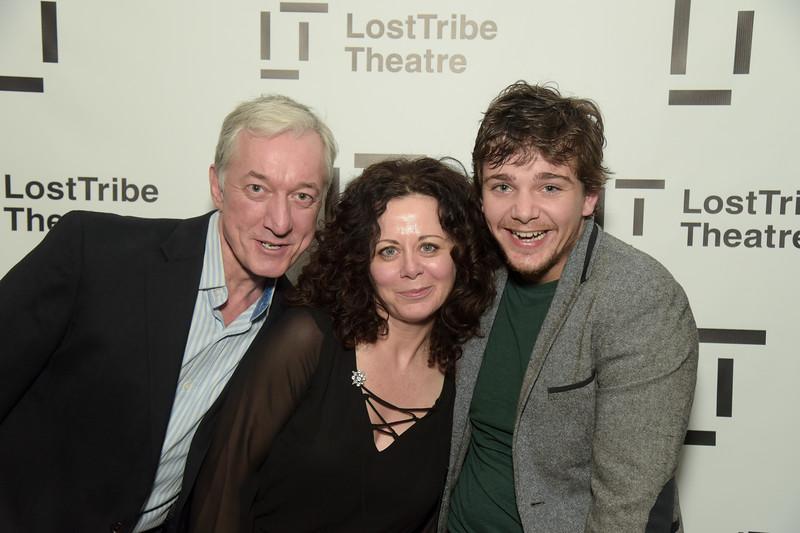Sean Gormley, Geraldine Hughes and Rupert Simonian