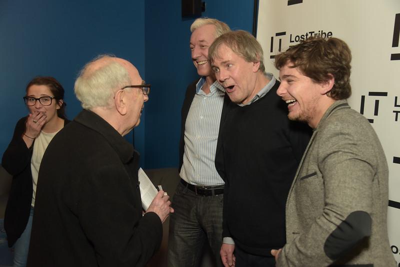 Sean Gormley, Robert Holman and Rupert Simonian