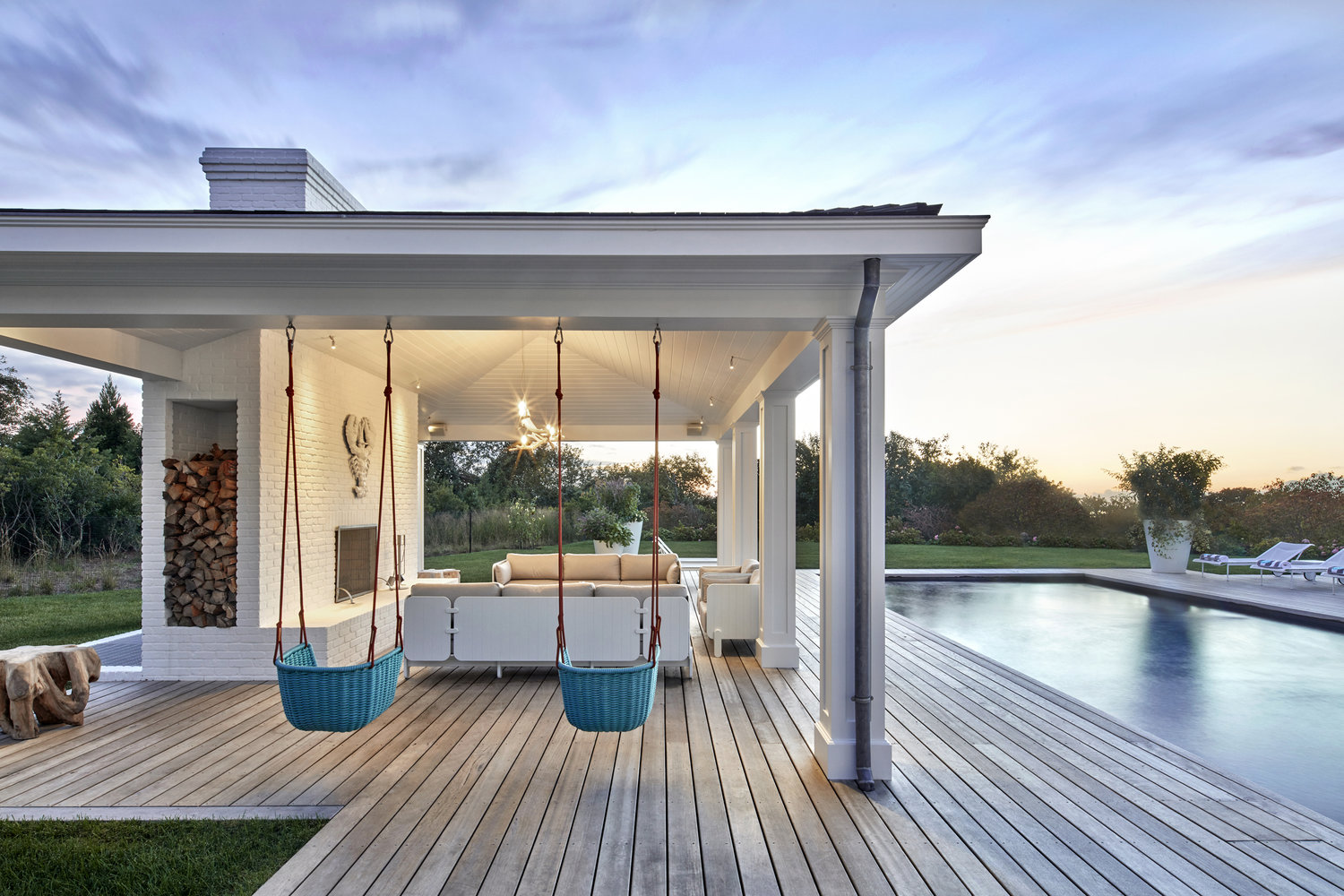 MONTAUK BEACH HOUSE, NY. ARCHITECT: ARCOLOGICA    |   PHOTO: GARRETT ROWLAND