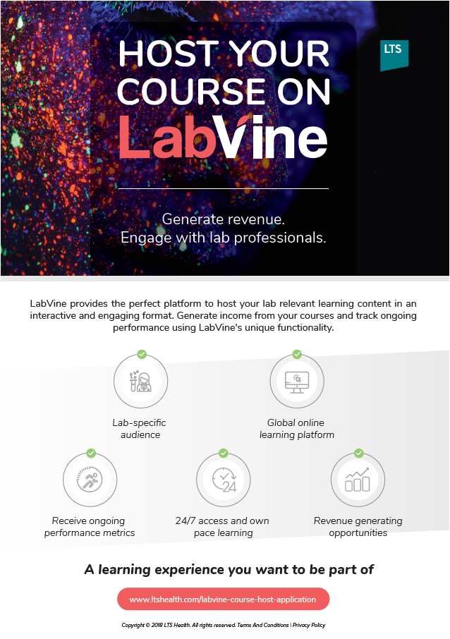 LabVine Advert