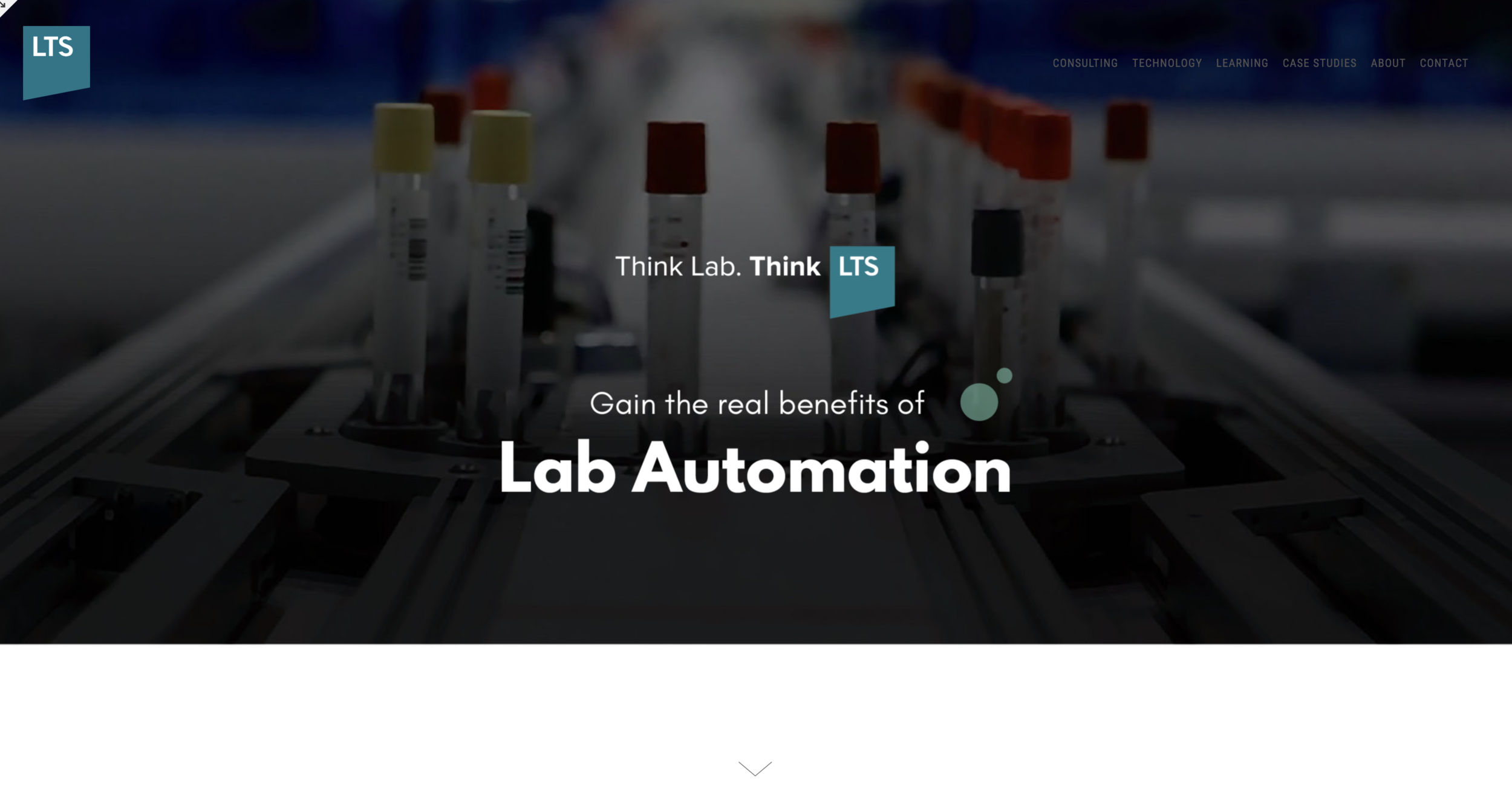 Lab Automation - Webpage