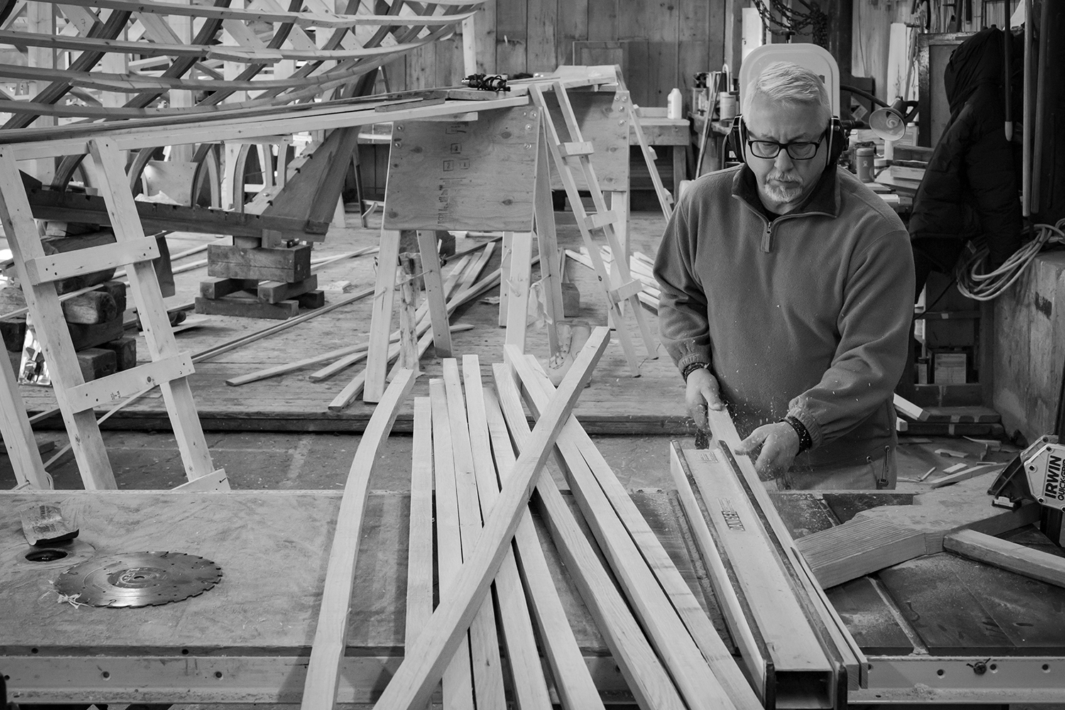 putting the stern, keel, sternpost together. Week 19
