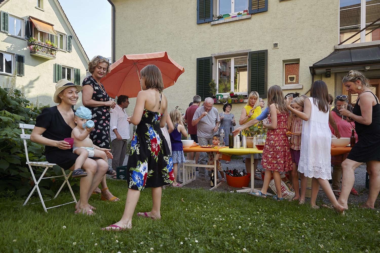 Siedlungsfest Mühlebach