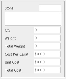 Example BoM control based on core attributes for managing diamonds.
