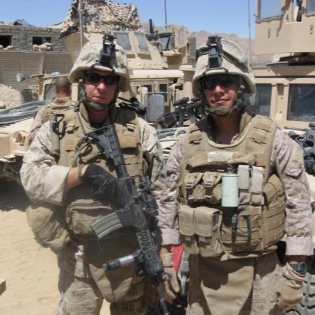 Phil serving in Afghanistan
