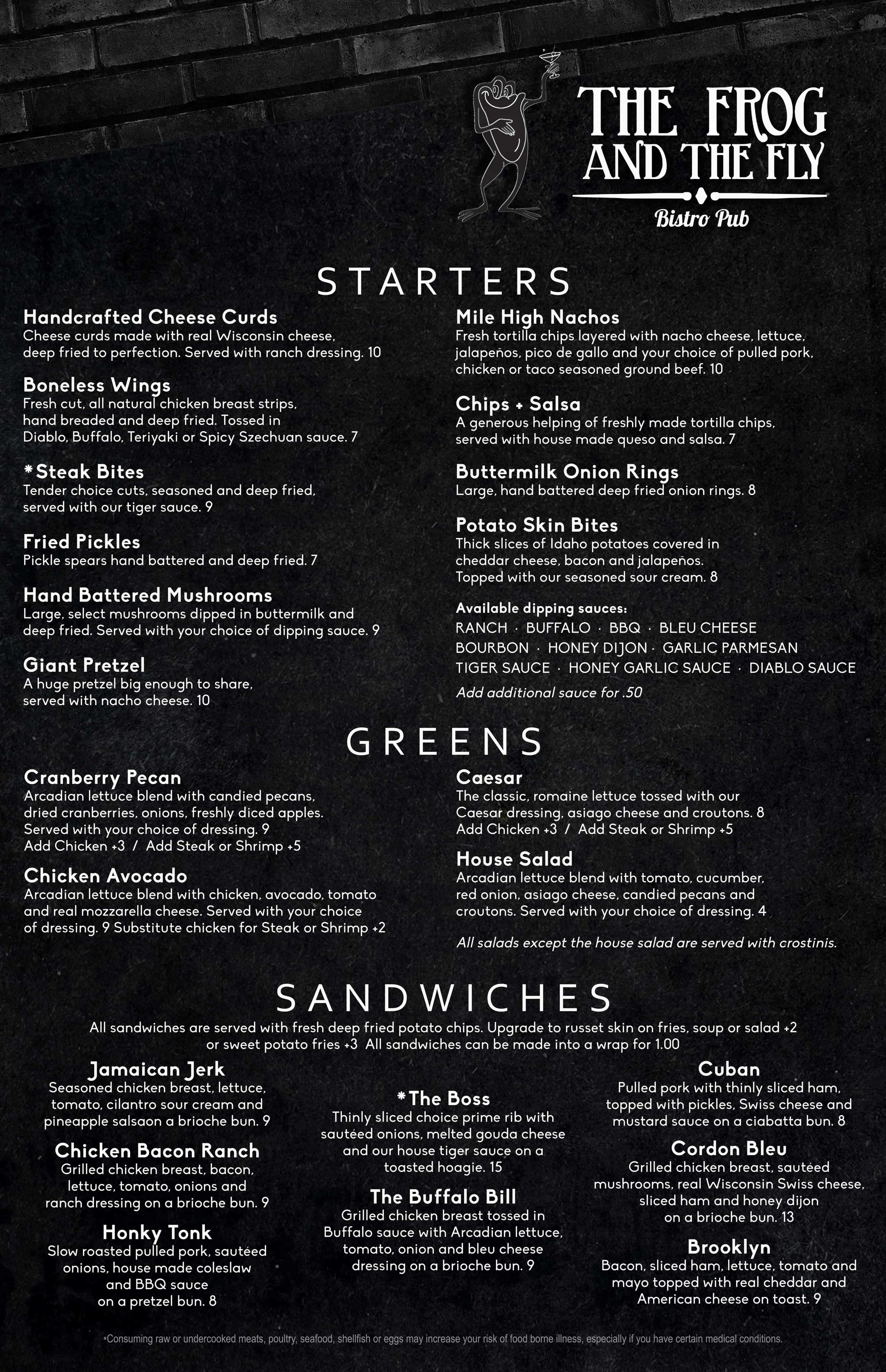 Frog and the Fly Bistro_Main Menu_PG1.jpg