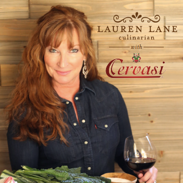Cervasi brand ambassador and influencer Lauren Lane