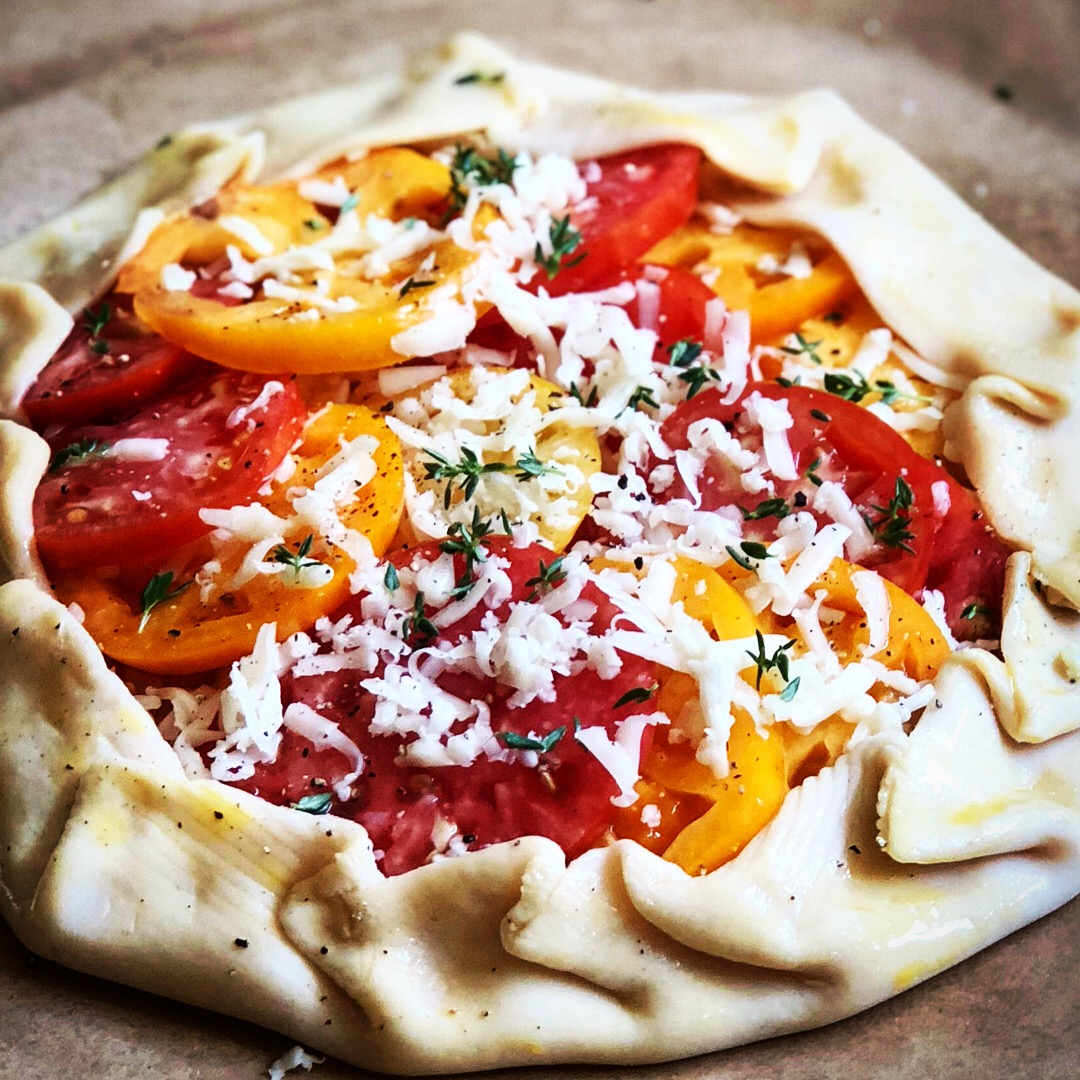 Tomato Crostata or Tart