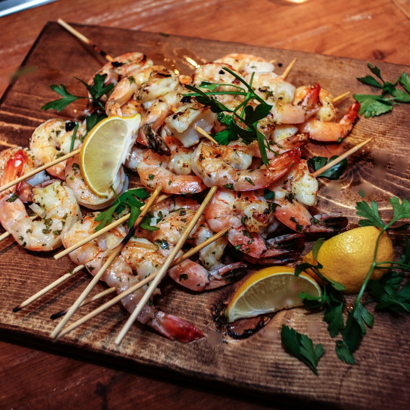 Herb Grilled Shrimp