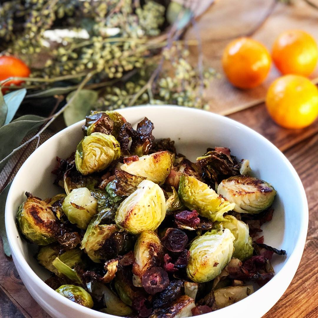 Roasted Brussel Spouts Pancetta