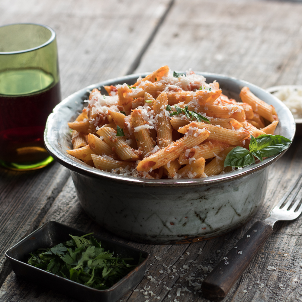This is a delicious easy recipe for penne alla vodka. A classic!