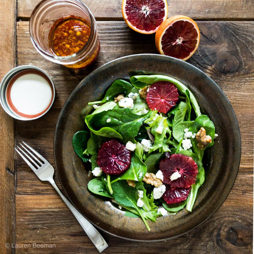 Blood Orange Salad Lauren Lane Restaurant Week Menu