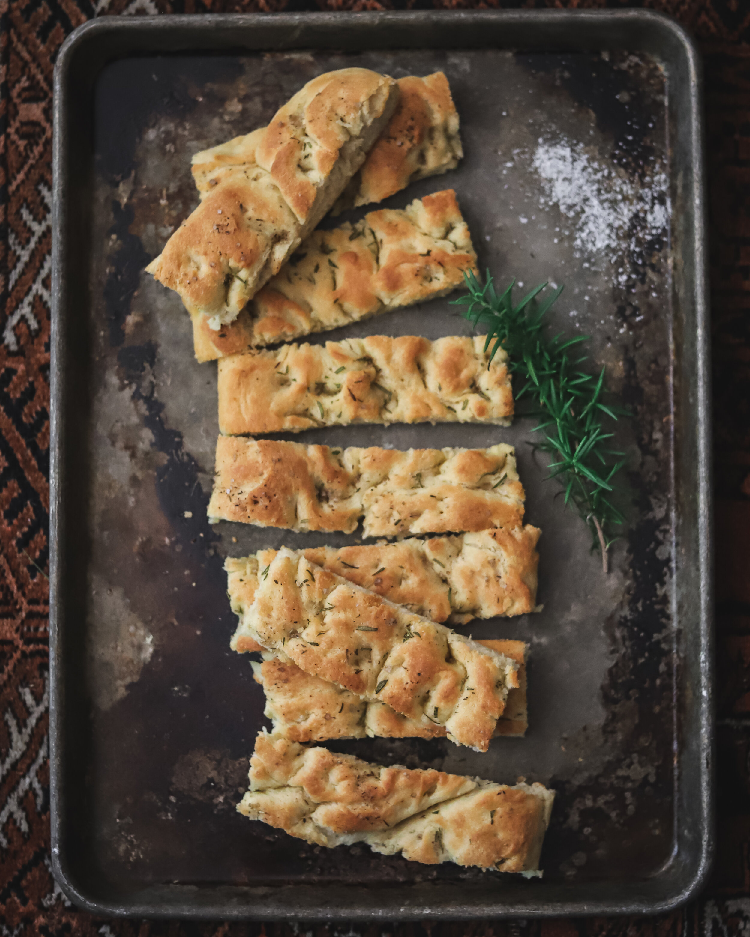 Easy Overnight Focaccia Bread With 25 Topping Ideas Lauren Lane Culinarian