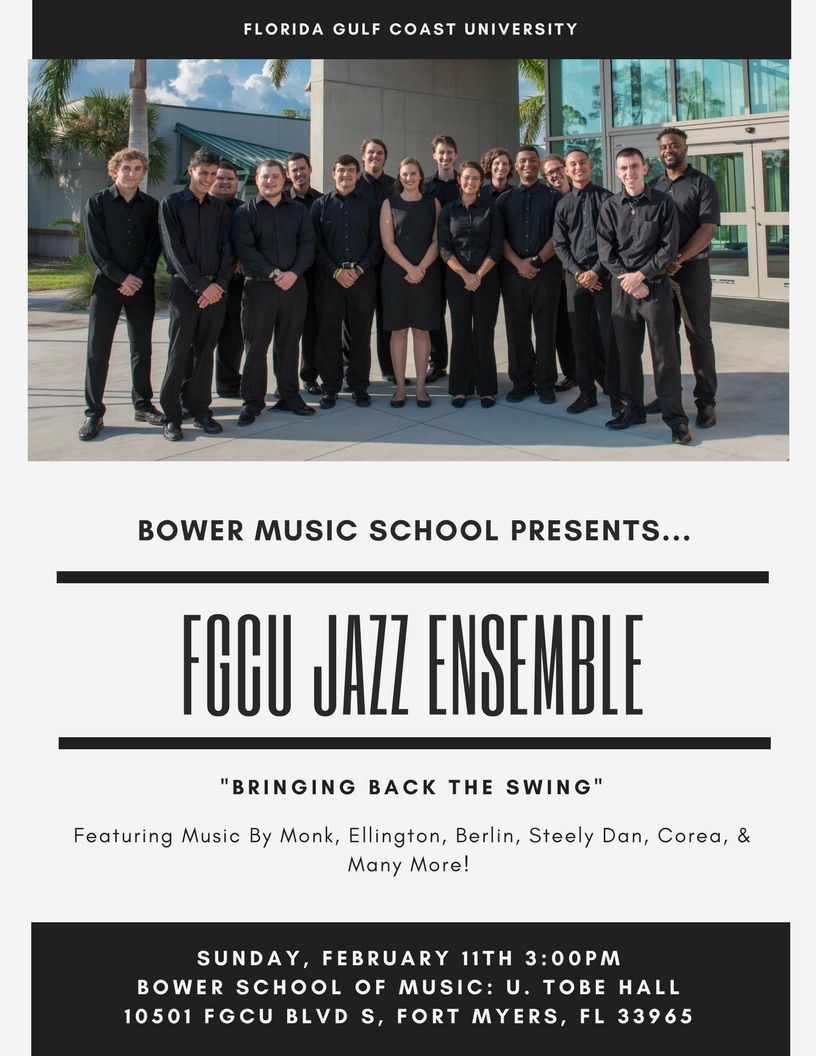 Florida Gulf Coast University jazz ensemble feb 11th 2018 concert.jpg